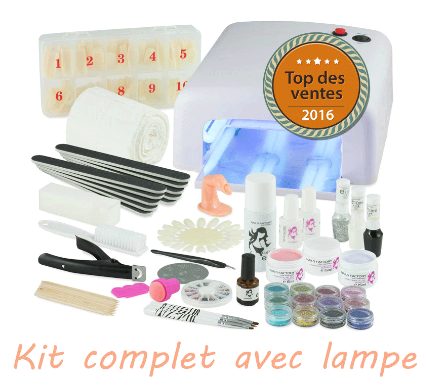 kit complet ongles gel